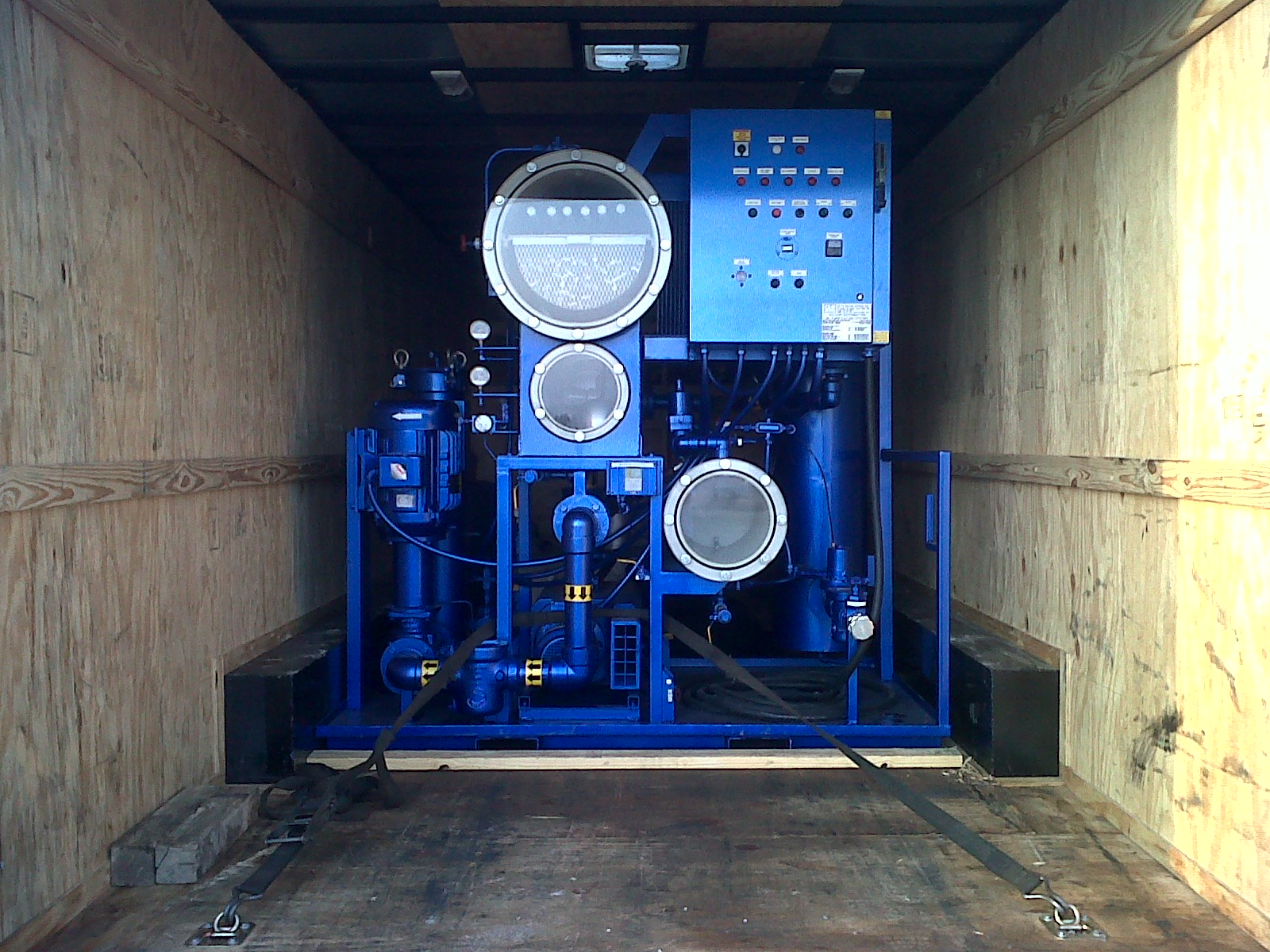 water and gas removal Mobile Reclamation Units