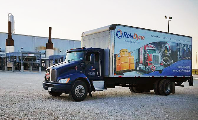RelaDyne Delivery Box Truck
