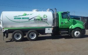 New West Oil Truck